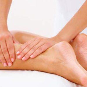 Masaje Muscular para descarga de piernas.